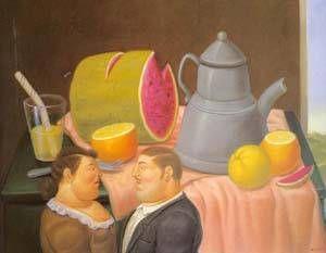 Fernando Botero - Interior
