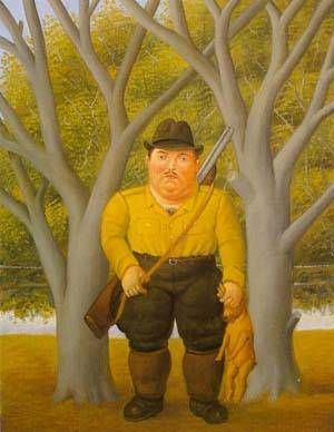 Fernando Botero - The Hunter