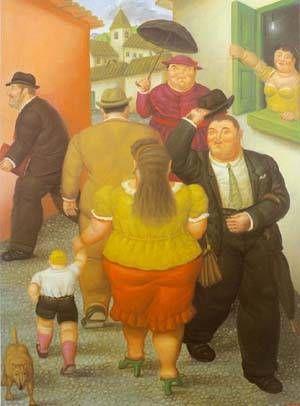 Fernando Botero - The Street
