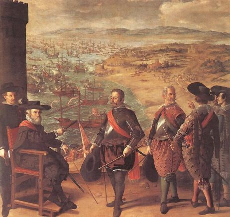 Francisco de Zurbaran - Defence of Cadiz against the English