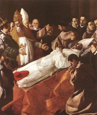 Francisco de Zurbaran - The Lying-in-State of St
