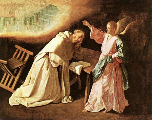 Francisco de Zurbaran - The Vision of St Peter of Nolasco