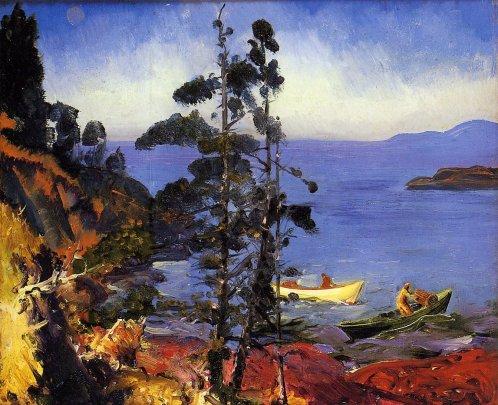 George Bellows - Evening Blue