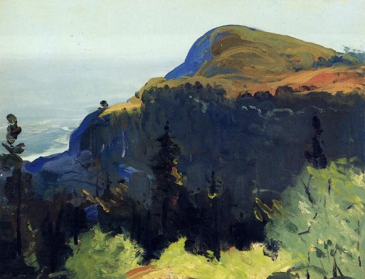 George Bellows - Hill and Valley