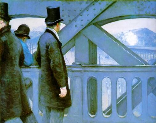 Gustave Caillebotte - On the Europe Bridge