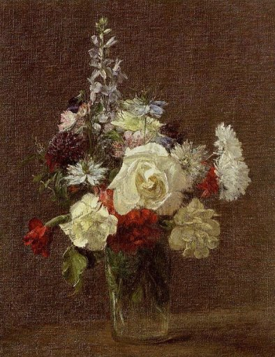 Henri Fantin-Latour - Mixed Flowers