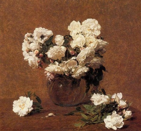 Henri Fantin-Latour - Roses Alma Vieberg