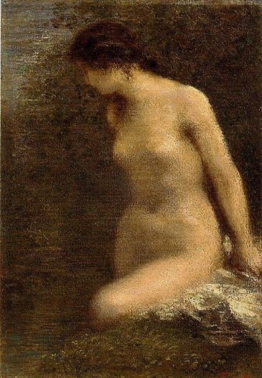 Henri Fantin-Latour - Small Brunette Bather