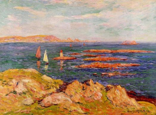 Henri Moret - By the Sea