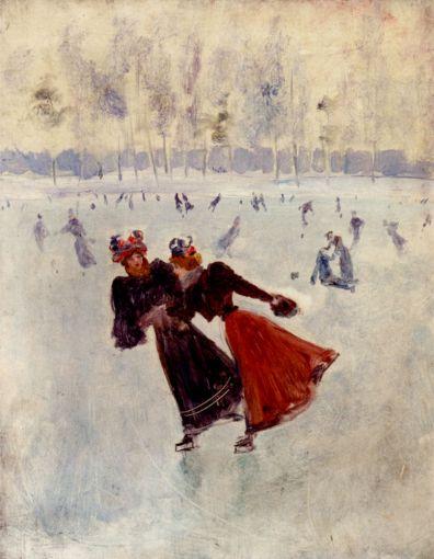 Jean Beraud - Women Skating