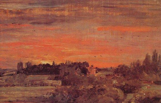 John Constable - East Bergholt Rectory