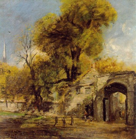 John Constable - Harnam Gate, Salisbury