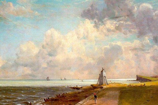 John Constable - Harwich Lighthouse