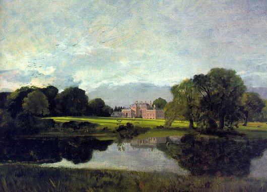 John Constable - Malvern Hall