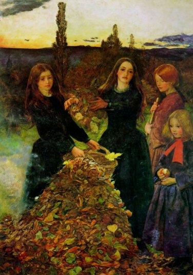 John Everett Millais - Autumn Leaves2