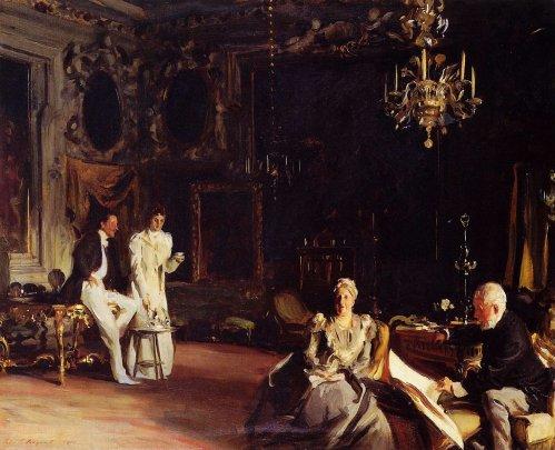 John Singer Sargent - An Interior In Venice