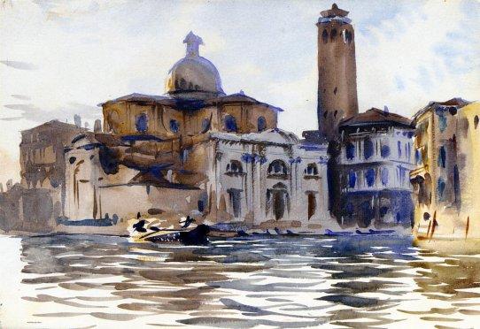John Singer Sargent - Palazzo Labbia Venice