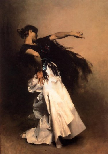 John Singer Sargent - Spanish Dancer