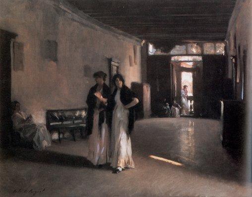 John Singer Sargent - Venetian Interior