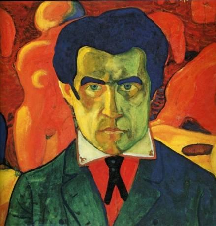 Kazimir Malevich - Self Portrait, 1908
