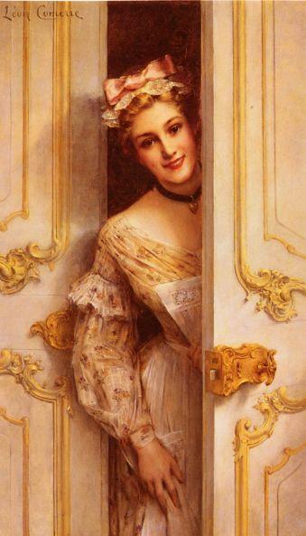 Leon Francois Comerre - The Pretty Maid