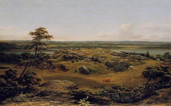 Martin Johnson Heade - Rocks in New England