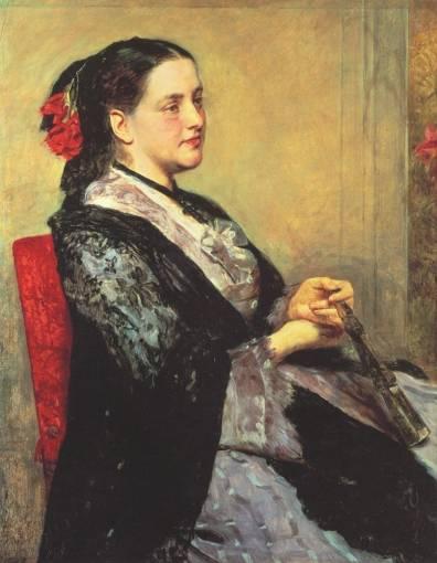 Mary Cassatt - Portrait of a Lady of Seville