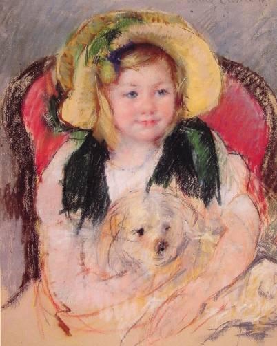 Mary Cassatt - Sara with Her Dog