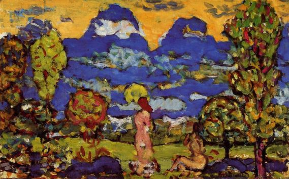 Maurice Prendergast - Blue Mountains
