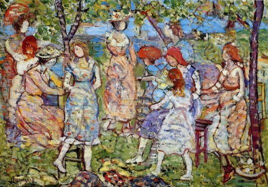 Maurice Prendergast - Girls in the Park