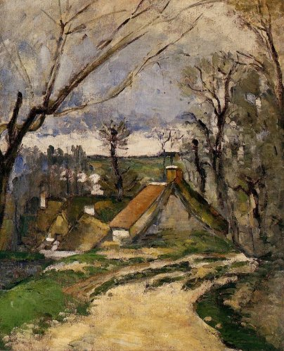 Paul Cezanne - The Cottages of Auvers