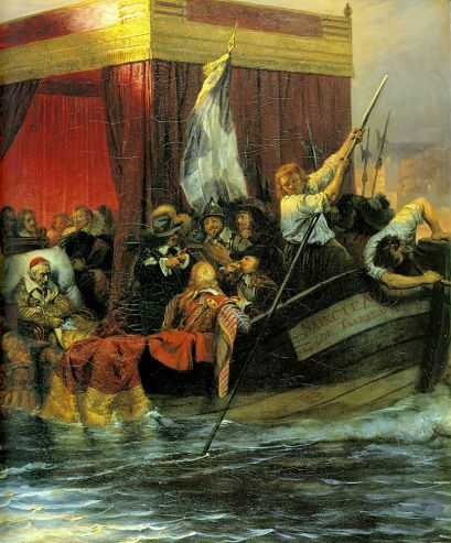 Paul Delaroche - Cardinal Richelieu 2
