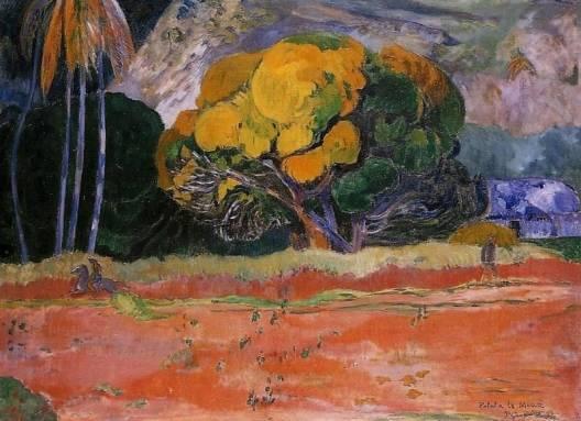 Paul Gauguin - At the Big Mountain