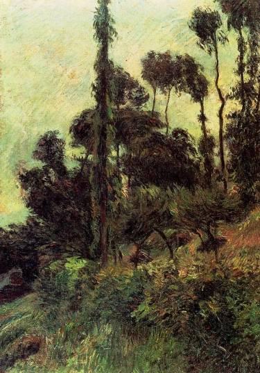Paul Gauguin - Hillside