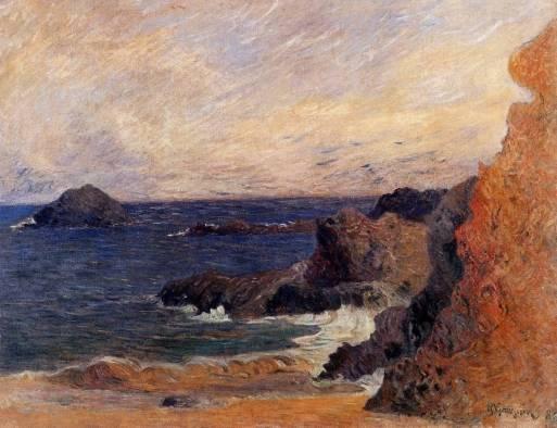 Paul Gauguin - Rocky Coast