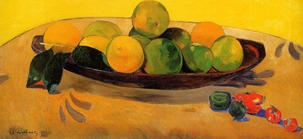 Paul Gauguin - Still Life with Tahitian Oranges