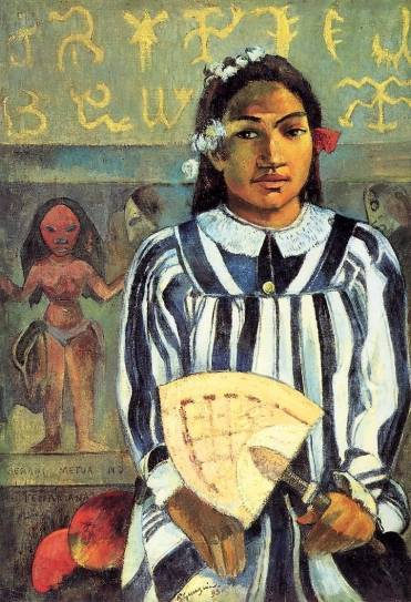 Paul Gauguin - Tehamana Has Many Ancestors