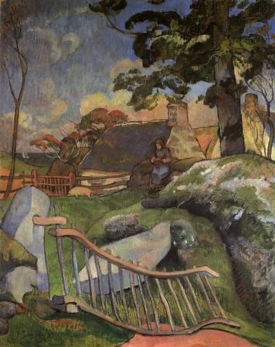 Paul Gauguin - The Gate