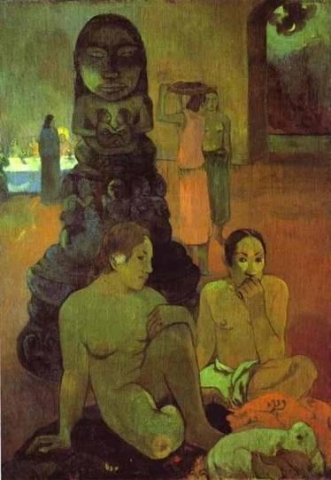 Paul Gauguin - The Great Buddah