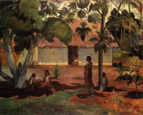 Paul Gauguin - The Large Tree