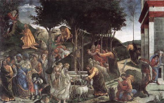 Sandro Botticelli - Scenes from the Life of Moses