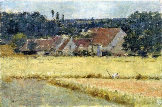 Theodore Robinson - French Farmhouse