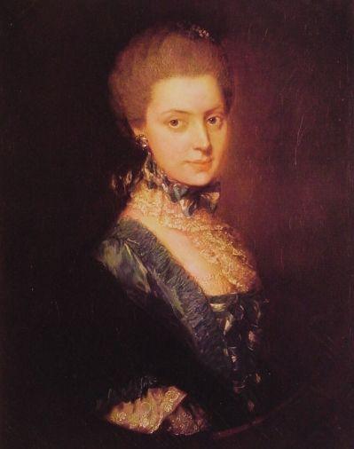 Thomas Gainsborough - Elizabeth Wrottesley