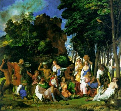 Titian - Feast Of The Gods