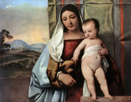 Titian - Gipsy Madonna