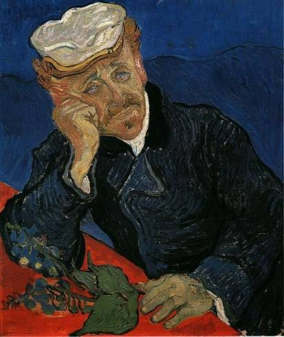 Vincent van Gogh - Portrait of Doctor Gachet 1