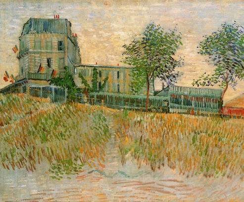 Vincent van Gogh - Restaurant de la Sirene at Asnieres 1
