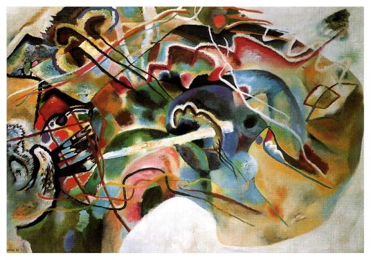 Wassily Kandinsky - Picture With White Border