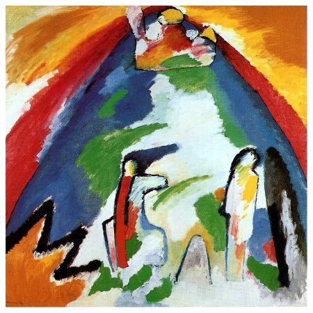 Wassily Kandinsky - The Blue Mountain2