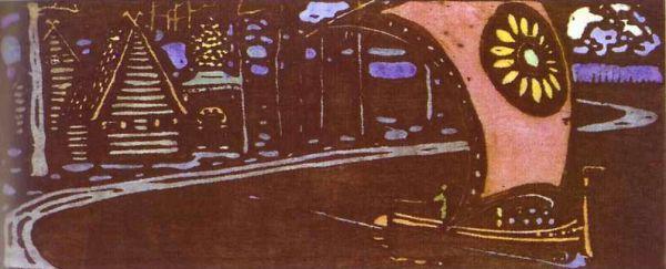 Wassily Kandinsky - The Golden Sail